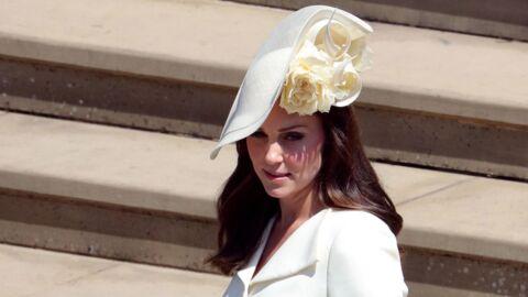 PHOTOS Kate Middleton: son bijou en hommage à son fils Louis au mariage du prince Harry et Meghan Markle