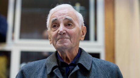 Charles Aznavour contraint d'annuler des concerts pour des raisons de santé