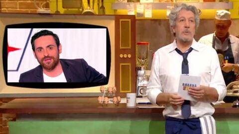 Camille Combal remplaçant d'Alain Chabat dans Burger Quiz sur TMC, la production répond (et c'est très drôle)