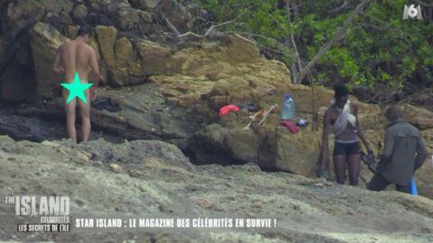 VIDEO Olivier Dion entièrement nu dans The Island Célébrités!