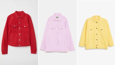 Tendance printemps/été: la veste en jean colorée, 20 modèles à shopper à moins de 50 euros!