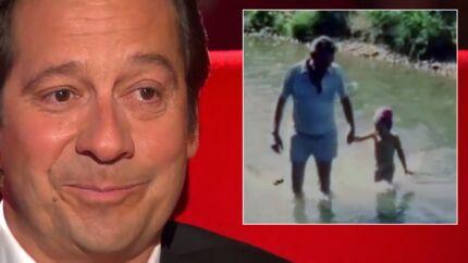 Laurent Gerra en larmes sur le Divan de Marc Olivier Fogiel face à des images de son grand père
