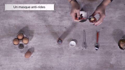 VIDEO LA MINUTE DIY: Comment fabriquer un masque anti-rides?