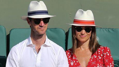 PHOTOS Pippa Middleton enceinte: elle affiche ses premières rondeurs à Roland Garros