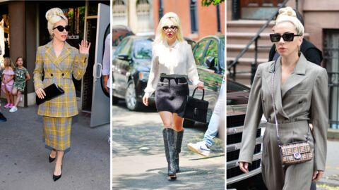 PHOTOS Lady Gaga : on adore son nouveau look rétro