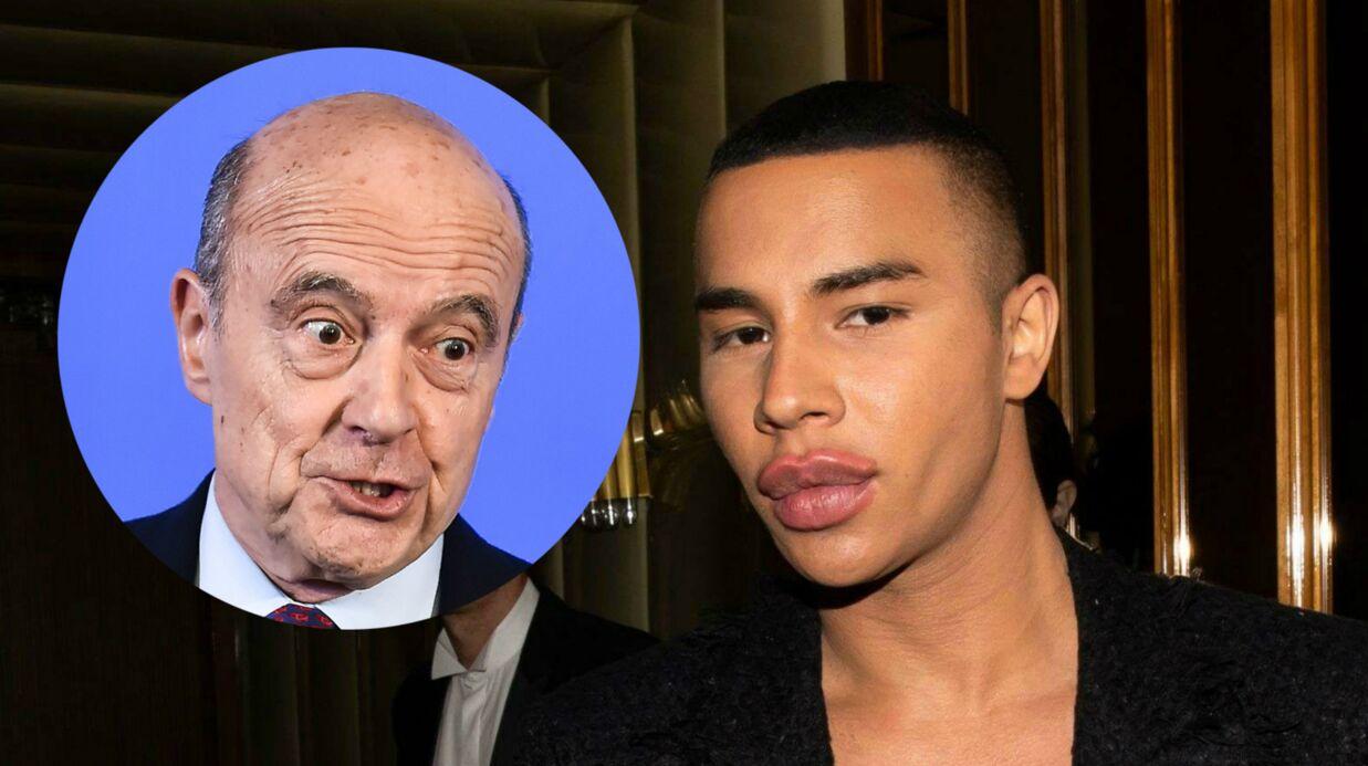 Olivier Rousteing: l'étrange lien entre le directeur artistique de Balmain et… Alain Juppé!