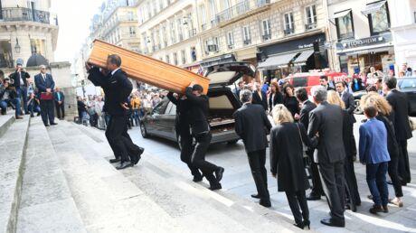 Obsèques de Pierre Bellemare: l'émotion de la famille et des stars