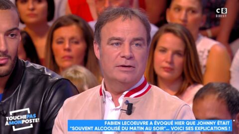 VIDEO Johnny Hallyday «alcoolisé du matin au soir»: Fabien Lecoeuvre revient sur ses propos polémiques