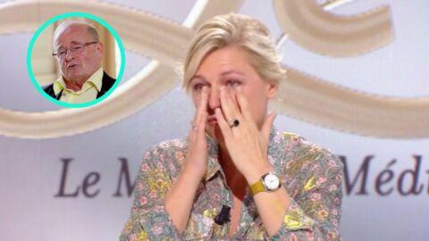 VIDEO Anne-Elisabeth Lemoine fond en larmes après un message de son papa