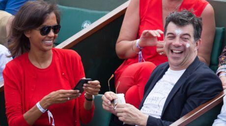 PHOTO Karine Le Marchand balance Stéphane Plaza qui fait le pitre à Roland-Garros