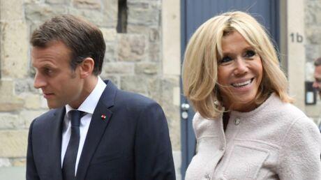 PHOTOS Brigitte et Emmanuel Macron retrouvent leur très célèbre garde du corps