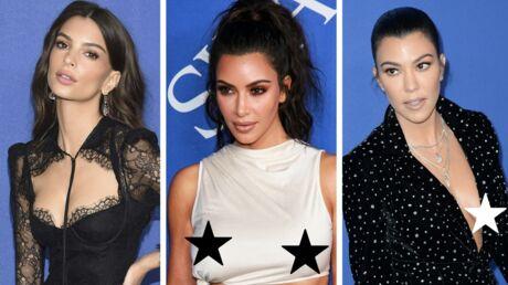 PHOTOS CFDA Fashion Awards 2018: Kim Kardashian sans soutien gorge, Kourtney nue sous sa veste