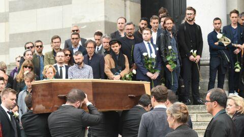 Obsèques de Christophe Michel: soutenu par Valérie Trierweiler et Olivier Minne, Jean-Luc Romero pleure son mari