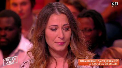 VIDEO Magali Berdah, l'agent des stars de la téléréalité, fond en larmes sur C8 en évoquant son enlèvement