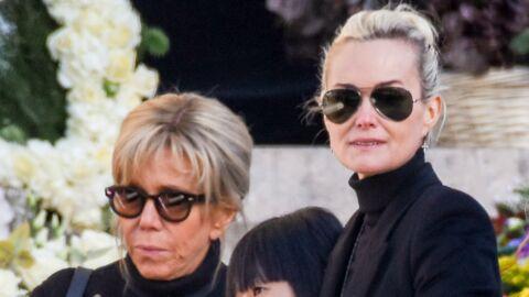 VIDEO Voici la réaction de Brigitte Macron lorsque Laeticia Hallyday lui a annoncé la mort de Johnny