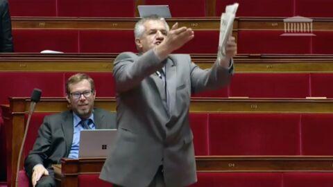 Jean Lassalle: le député pète un plomb à l'Assemblée nationale