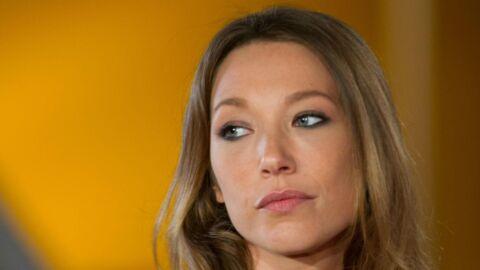 PHOTO Laura Smet: découvrez l'accessoire qu'elle portait chez RTL en hommage à son papa