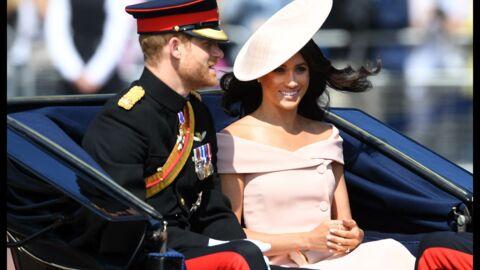 PHOTOS Meghan Markle sublime dans une robe rose poudrée à l'anniversaire de la reine Elizabeth II
