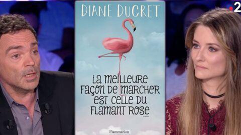 VIDEO Attaquée par Yann Moix dans ONPC, la romancière Diane Ducret le tacle sur Twitter