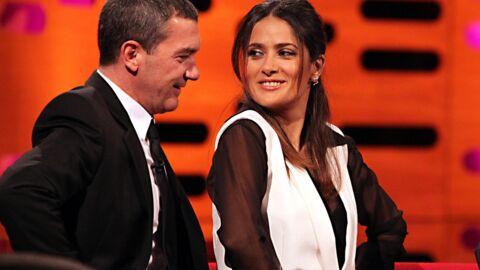 Affaire Weinstein: Salma Hayek a gardé le silence pour le bien d'Antonio Banderas