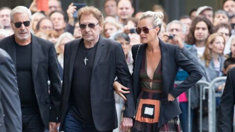 Johnny Hallyday: comment Laeticia l'a poussé à venir aux obsèques de Mireille Darc malgré la maladie