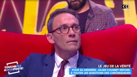 VIDEO Julien Courbet au bord des larmes après une déclaration touchante de Matthieu Delormeau