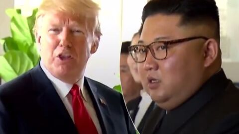 Donald Trump : sa question TRÈS gênante aux photographes qui immortalisent sa rencontre avec Kim Jong Un