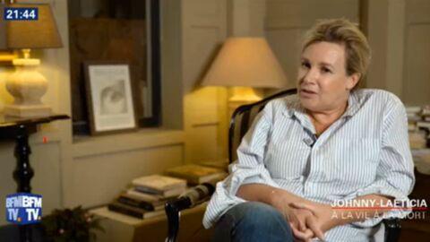 VIDEO Quand Laura Smet promettait à Laeticia Hallyday qu'elles seraient «toujours une famille» au chevet de Johnny