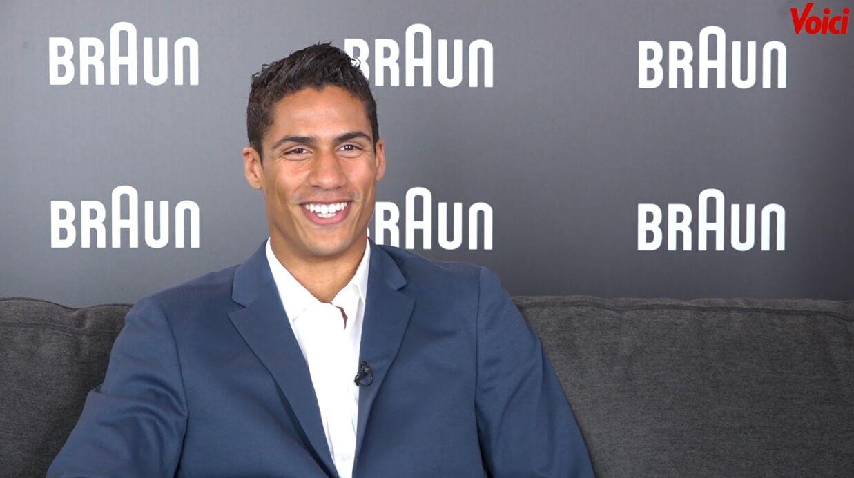 VIDEO Mondial 2018: l'interview beauté de Raphaël Varane