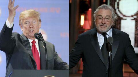 Moqué par Robert De Niro, Donald Trump l'insulte sur Twitter
