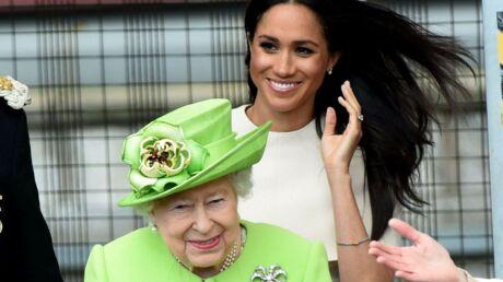 PHOTOS Meghan Markle: son premier voyage officiel en tête à tête avec la reine Elizabeth II