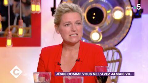 VIDEO C à Vous: l'ENORME bourde d'Anne-Elisabeth Lemoine en plein direct
