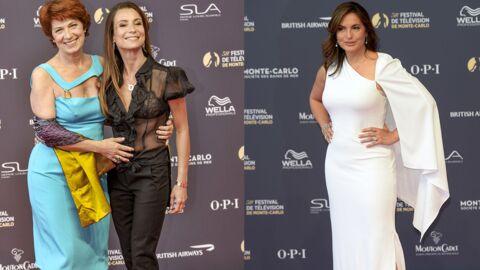 PHOTOS Festival de Monte-Carlo: les retrouvailles de Véronique Genest et Jennifer Lauret, Mariska Hargitay divine sur le tapis rouge