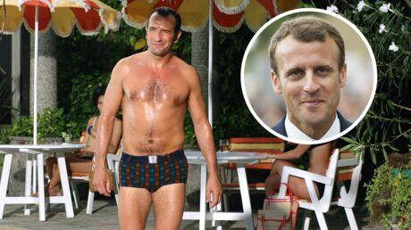 PHOTO Jean Dujardin se paye la tête d'Emmanuel Macron et s'amuse de sa comparaison avec OSS 117