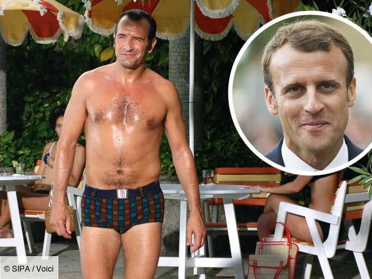 Photo Jean Dujardin Se Paye La Tete D Emmanuel Macron Et S Amuse De Sa Comparaison Avec Oss 117 Voici