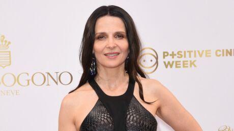 PHOTO Juliette Binoche: l'actrice est devenue rousse et elle est sublime!