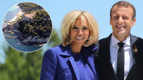 Emmanuel et Brigitte Macron veulent une piscine au fort de Brégançon