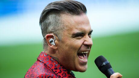 Mondial 2018: Robbie Williams justifie son doigt d'honneur à la cérémonie d'ouverture