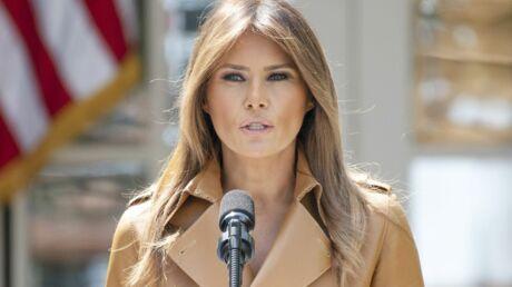 Melania Trump: le message caché de sa nouvelle veste crée une énorme polémique