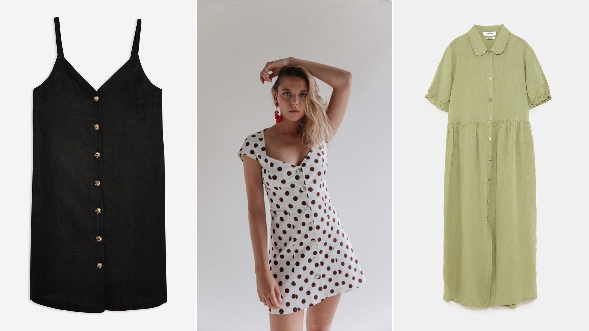 e1a1cb8d64d Shopping   25 modèles de robes boutonnées pour être au top cet été - Voici