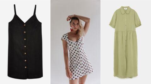 Shopping: 25 modèles de robes boutonnées pour être au top cet été
