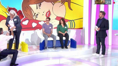 VIDEO Les Z'amours: un candidat demande sa compagne en mariage sous le regard amusé de Bruno Guillon