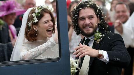 PHOTOS Game of Thrones : Kit Harington et Rose Leslie se sont dit oui !