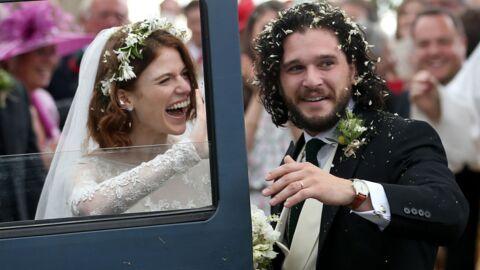PHOTOS Game of Thrones: Kit Harington et Rose Leslie se sont dit oui!