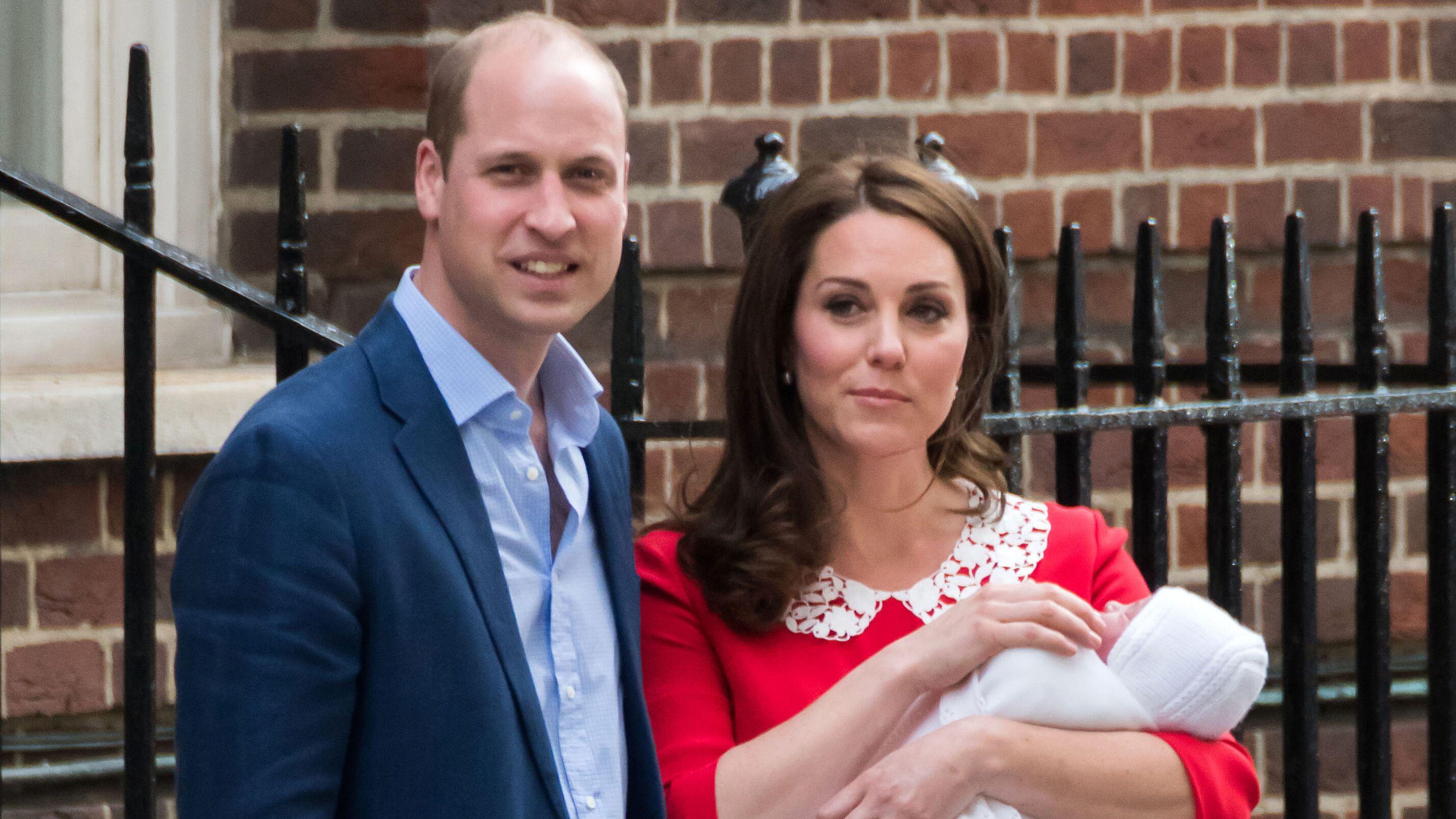 4b5ee8fe3cf1c Baptême du prince Louis   pourquoi le prince Harry et Meghan Markle ne  seront pas parrain et marraine - Voici