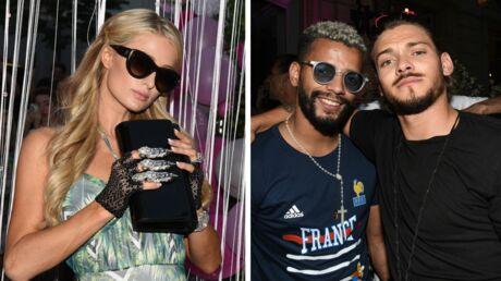Rayane Bensetti retrouve le sourire avec une belle inconnue, Paris Hilton exhibe son immense bague à la Boohoo Party