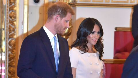 PHOTOS Meghan Markle radieuse lors d'une rencontre avec des leaders à Buckingham