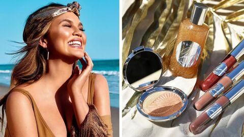 La collab entre Chrissy Teigen et Becca Cosmetics sent bon les vacances!