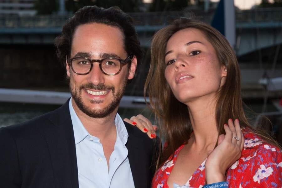 Thomas Hollande et sa future femme Emilie Broussouloux