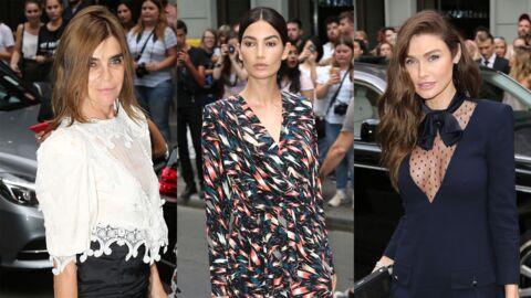 PHOTOS Oups… Une star montre ses dessous au défilé Givenchy Haute Couture